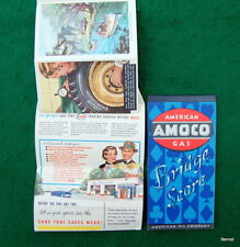 LOT OF TWO VINTAGE GASOLINE ADVERTISING ITEMS