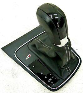 Seat Leon FR Cupra DSG Schaltknauf 5F1713203 C Bj.16 Leder eteas Beschädigt