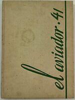 1941 EXCELSIOR UNION HIGH SCHOOL Norwalk California Yearbook Annual El Aviador