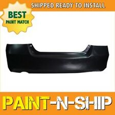 Fits 2006 2007 Honda Accord Sedan 6cyl Rear Bumper Painted (HO1100233)