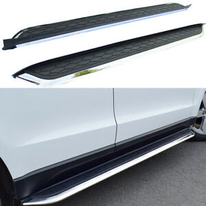 Running Boards Side Steps Pedals Nerf Bar fits for Jaguar F PACE F-PACE 2016-21