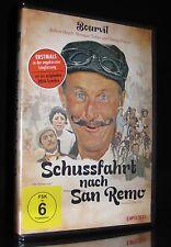 DVD SCHUSSFAHRT NACH SAN REMO (LES CRACKS) - DEFA Langfassung ungekürzt * NEU *