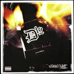 "D12 ""DEVILS NIGHT"" 2001 PROMO POSTER/FLAT 2-SIDED 12X12 ~RARE~ HTF *NEW*"