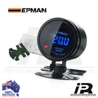 "52mm AIR FUEL RATIO Gauge 2"" AFR Epman Racing Smoked Digital Color Analog"