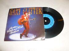 """Gary Glitter-un' altra ROCK AND ROLL Natale - 1984 UK Vinile 7"""" singolo"""