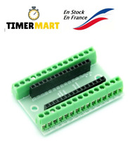 Bouclier shield Controller Terminal Adapter Expansion Arduino Nano TimerMart