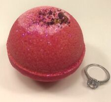 2 Large Ring Bath Bombs Best Value Great Gift Spa fizzie lush ultra pearl jewel