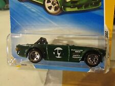 Hot Wheels Triumph TR6 2009 New Models Green