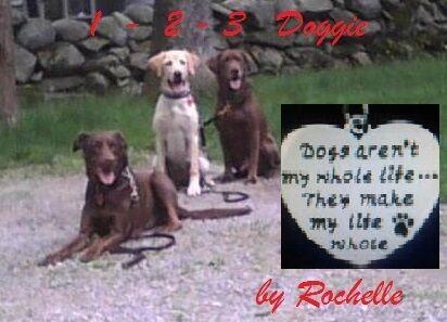 1-2-3 Doggie by Rochelle