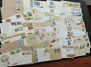 INDIA & SRI LANKA - FINE COLLECTION OF 130 x 1st DAY COVERS 1960s/2005