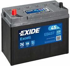 EXIDE Autobatterie Batterie 45Ah - EXCELL EB457 zzgl. 7,50€ Batteriepfand