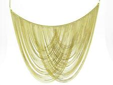 18K Yellow Gold One of Kind Hand Made Lace Design Italian Made Necklace 33.4 Gr