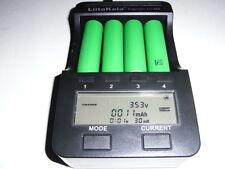 1carica batteria Liitokala lii 500 /18650/18350/AA 4 slot + 4 sony vtc6 3120 mAh