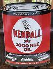 VINTAGE+KENDALL+GASOLINE+PORCELAIN+GAS+SERVICE+STATION+MOTOR+OIL+CAN