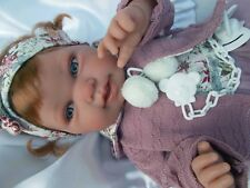 BEBE ROUX  ANTONIO JUAN +TENUE + TETINE IDEAL POUR ENFANT JOUET- reborn NEUF