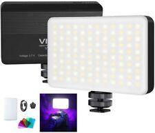 VIJIM VL120 Light Panel On Camer Video Pocket Light, LED Fill Light,