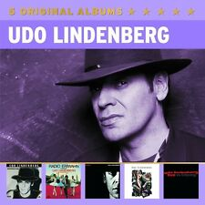 UDO LINDENBERG - 5 ORIGINAL ALBUMS (VOL.2) 5 CD NEU