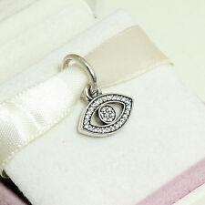 * Authentic Pandora Symbol of Insight Pendant 791349CZ Evil Eye Charm