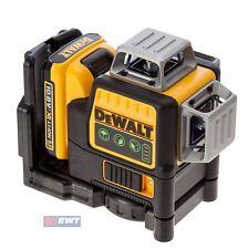 Dewalt Multi Line Laser 3x360°, Green, 10,8V/2,0 Ah DCE089D1G Dce 089 D1G