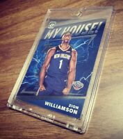 2019-20 Panini Optic Zion Williamson My House #15 Pelicans RC Rookie***Mint***