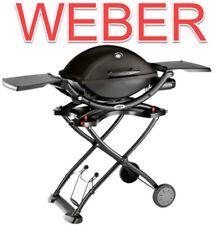 Weber Q 1200 Gasgrill mobile schwarz black line Bungalow Garten Terrasse Haus