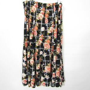 Chances R Skirt Plus size 3X Elastic waist Stretch knit Long Modest No slit NEW