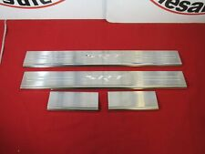 CHARGER CHRYSLER Stainless Steel Door Sill Guards W/ SRT Logo NEW OEM MOPAR