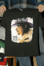 Kid Rock first kiss concert t shirt two sided  American badass Foreigner Trump
