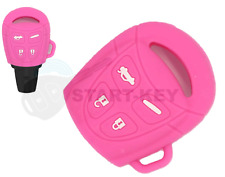 CHRYSLER YPSILON Y Key shell Remote Cover logo emblem new black pink LANCIA