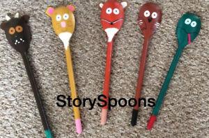 Gruffalo Style - Story Spoons
