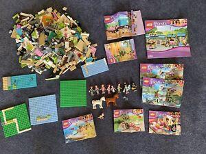 Bulk Lego Friends And Instruction Books