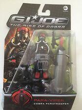 """G I - JOE PARA- VIPER """" Cobra Paratrooper """" Action Figure 3.75"""""""