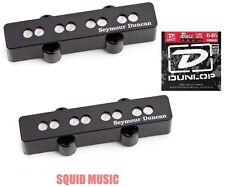 Seymour Duncan SJB-3b & SJB-3n Jazz Bass Quarter Pound Bassline ( BASS STRINGS )