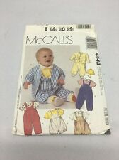 80's McCall's Baby Clothes Sewing Pattern