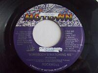 Rockwell Somebody's Watching Me 45 1983 Motown Michael Jackson Vinyl Record