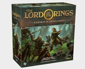 LORD OF THE RINGS : JOURNEYS IN MIDDLE EARTH BOARD GAME - FANTASY FLIGHT
