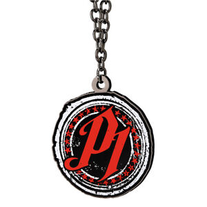 AJ Styles P1 Red Pendant Necklace WWE Authentic