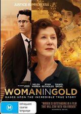 WOMAN IN GOLD - Helen Mirren, Ryan Reynolds (DVD, R4, Free Postage)