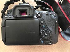 Canon EOS 80D 24.2 MP SLR-Digitalkamera - Schwarz (Nur Gehäuse) + Zubehörpaket