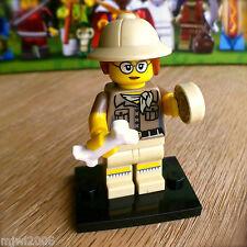 LEGO 71008 Minifigures PALEONTOLOGIST #6 Series 13 SEALED Minifigs Fossil Bone