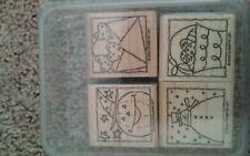 Stampin Up Festive Four stamp set