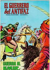 EL GUERRERO DEL ANTIFAZ (Reedición color) nº:  94.  Valenciana, 1972-1978.