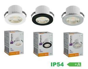 LED Mini Spot strahler Einbauleuchte Einbaustrahler Einbau 3W Spotlight IP54