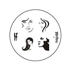MoYou uñas imagen placa 91 Nail Art estampado plantilla diseño de manicura