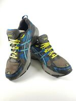 Asics Womens Running Shoes GEL-VENTURE 4 Blue/Gray/Yellow T383N Size 8