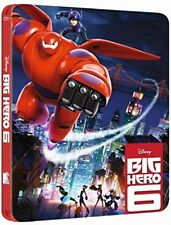 PELICULA BLURAY BIG HERO 6 EDICION METALICA RELIEVE WALT DISNEY