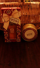 COTY LADY STETSON COLOGNE 2 OZ SPRAY ~PERFUMED DUSTING POWDER 1.75 OZ FOR HER