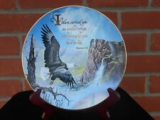 Royal Doulton plate Carried on Eagles Wings Exodus 19:4 by Ted Blaylock