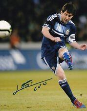 LIONEL MESSI SIGNED AUTOGRAPH 8X10 PHOTO FC BARCELONA ARGENTINA LEO