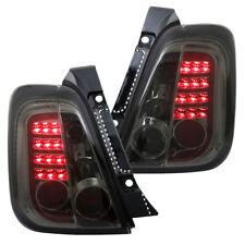 LED Rückleuchten Heckleuchten für Fiat 500 500C Bj. 07-15 Smoke/Rauch